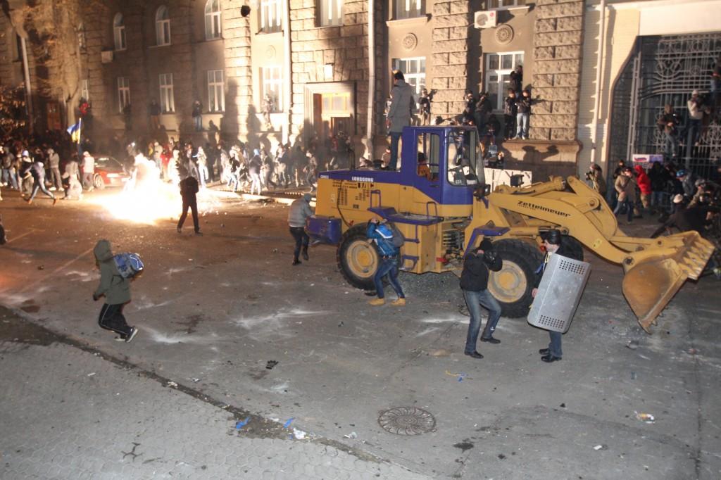 ЕвроМайдан революция в Киеве Украине
